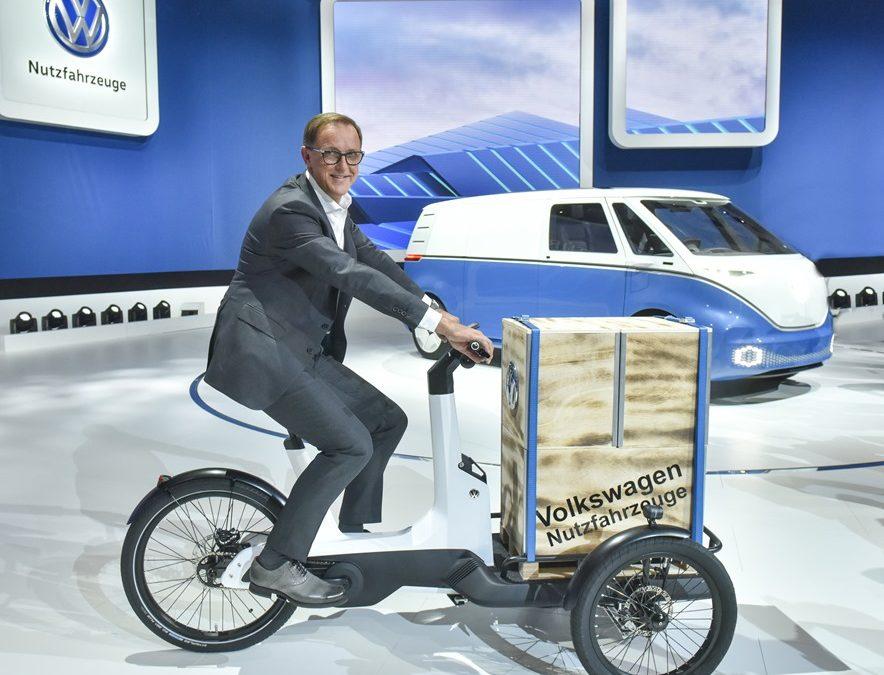 Volkswagen lancia una Cargo eBike