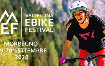 Valtellina Ebike Festival: 19 e 20 settembre al Polo Fieristico di Morbegno
