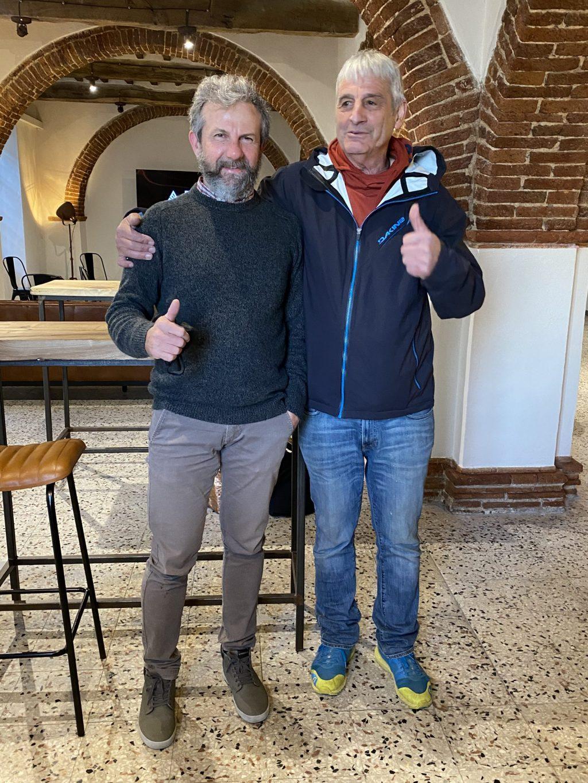 Ernesto Hutmacher e Giovanni Pettinari