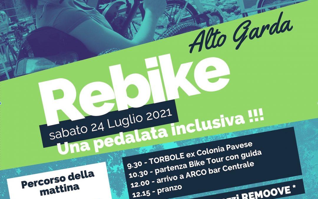 """""""Let's all cycle"""" con ReMoove: pedalata inclusiva nell'Alto Garda"""